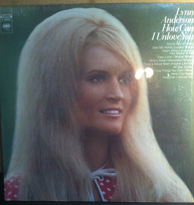 e2b96642e4e6e9 Lynn Anderson How Can I Unlove You Vinyl Country Record Album