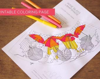 Diy Coloring Page