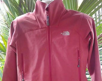 a1a83076dd Vintage Clothing 90 s Rare North Face Jacket Red The North Face Windbreaker  Fleece Zip Up Jacket Sweatshirt Summit Series Size M
