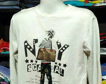 Vintage Clothing, 90's Rare, Zzigle, Made In Korea, Size  M