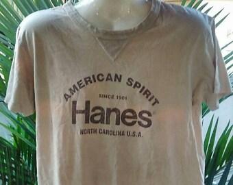 Vintage Clothing, 90's Rare, Hanes, North Carolina USA, American Spirit, Size M