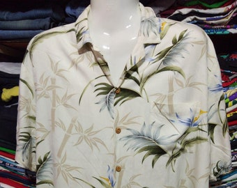 ad0bb75f Vintage Clothing 90's Rare Paradise Found Honolulu Hawaii Made In USA Size L