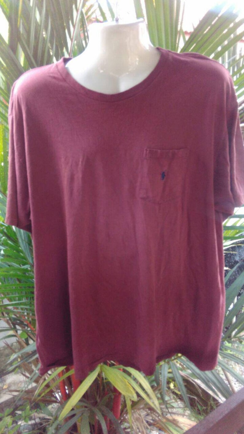 Vintage Clothing Size XL 90/'s Rare Polo by Ralp Lauren