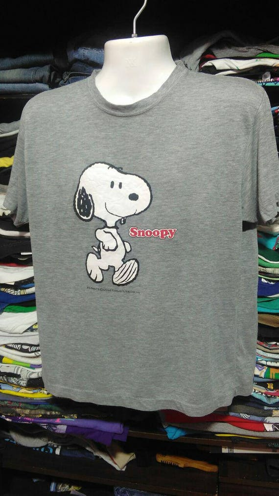Vintage Snoopy 90/'s full image vintage men clothingVintage men clothing
