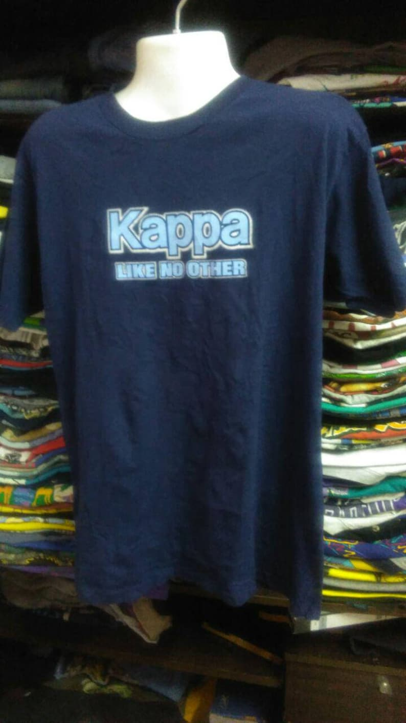 f877a61b Vintage Clothing 90's Rare Kappa t shirt Like o other Made In USA Size L