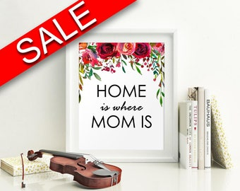 Wall Art Gift For Mom Digital Print Gift For Mom Poster Art Gift For Mom Wall Art Print Gift For Mom  Wall Decor Gift For Mom Birthday Gift