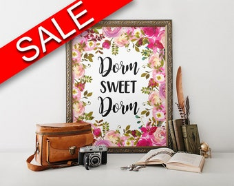 Wall Art Dorm Sweet Dorm Digital Print Dorm Sweet Dorm Poster Art Dorm Sweet Dorm Wall Art Print Dorm Sweet Dorm Student Art Dorm Sweet Dorm