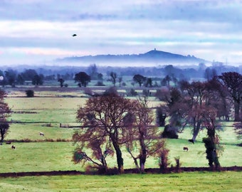 Glastonbury Tor, Somerset, early morning