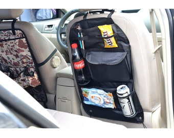 Car seat organizer, Car seat protector, Car seat cover, Extra pockets for car