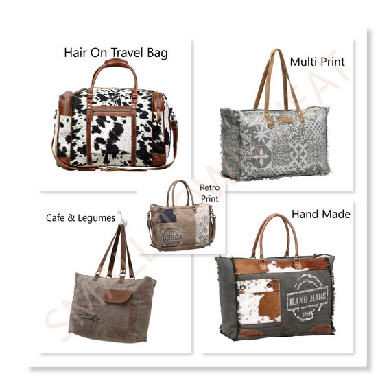Myra Bags Hair On Bags Weekender Bags Overnight Bags Cow Etsy See our 2020 brand rating for myra bag and analysis of 262 myra bag reviews for 23 products in messenger bags and handbags & wallets. myra bags hair on bags weekender bags overnight bags cow print bags multi print bags multi hide bags