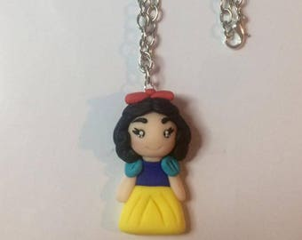 Adjustable necklace snow white