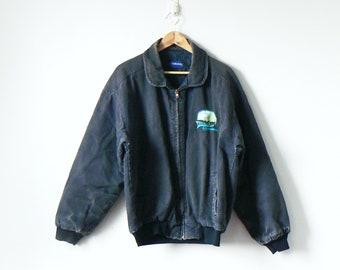 930ac9fb3 Denim bomber jacket | Etsy