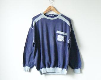 706d2e8d1753 90s Dunlop Logo Sweatshirt - Vintage Sweatshirt 90s Sweatshirt - Men s L