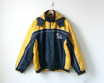 online store 9a513 6f3dd Steelers jacket | Etsy