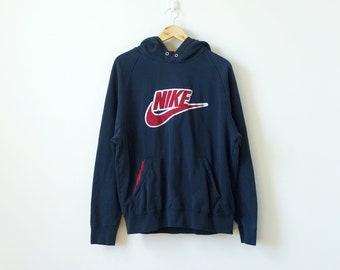90s Nike Hoodie - Vintage Nike Sweatshirt - 90s Hoodie - Vintage Sweatshirt  - Men s L 801e86a1a