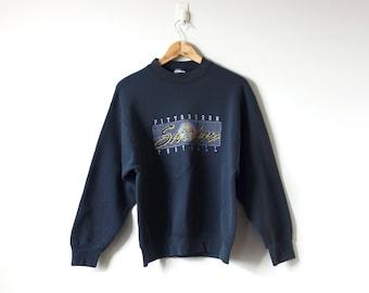 b337062c3 90s Pittsburgh Steelers Sweatshirt - Oversized Sweatshirt - Charcoal Gray  Sweatshirt 90s Sweatshirt Vintage Sweatshirt 90s Clothing -Men s L