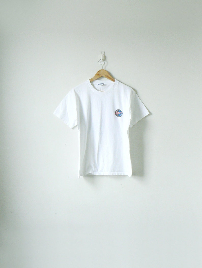 a17244f4672ac 90s Reebok Logo T-Shirt - Vintage Reebok T-Shirt - 90s Hip Hop Clothing -  Men's L