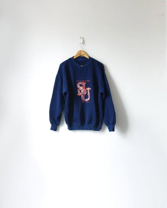 90s Syracuse Sweatshirt - College Sweatshirt - 90s