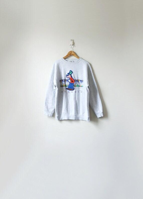"90s ""Goofy Classic"" Vintage Disney Sweatshrt - Men"