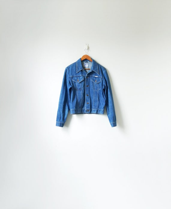 "70s Wrangler ""No-Fault"" Denim Jacket - 70s Denim J"