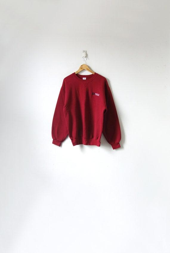 90s Washington & Jefferson College Sweatshirt - Vi