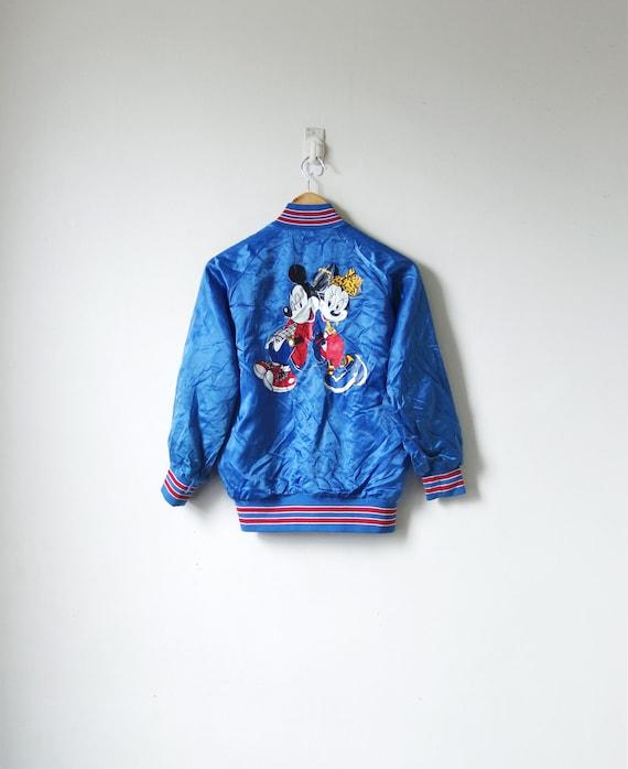 80s Mickey & Minnie Bomber Jacket - Vintage Disney
