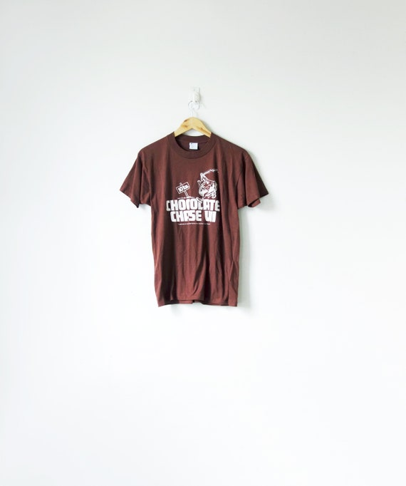 """80s Hershey's """"Chocolate Chase VII"""" T-Shirt - 80s"""