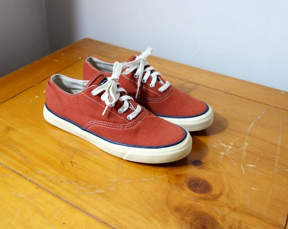 70s Sperry Top Sider Sneakers 70s Sneakers 70s Shoes 70s Etsy