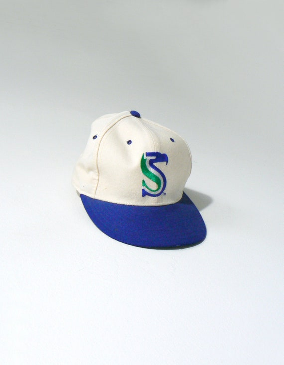 80s Seattle Seahawks New Era 59 50 Fitted Cap Vintage