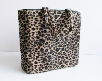 d0ac5bfd75f87 Vintage Animal Print Bag