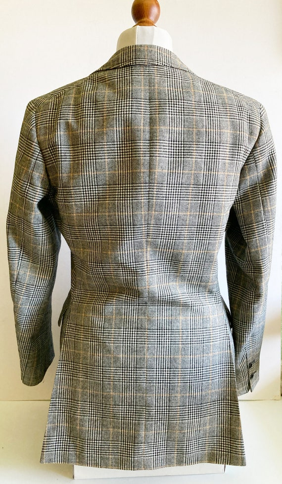 Vintage Checked Blazer, Boxy blazer, Boyfriend bl… - image 7