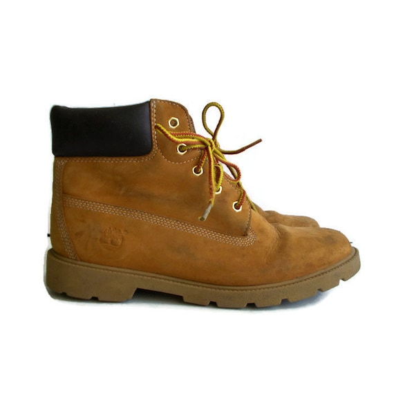 Vintage Timberland Leather Boots, Unisex Timberlan