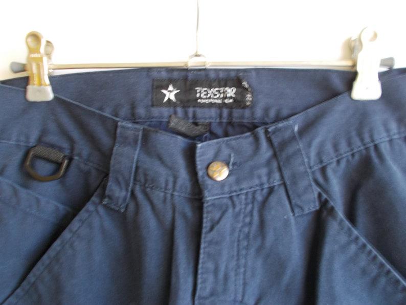 Vintage Cargo Pants 00s pants Dark blue pants Unisex cargo pants W29 L32 cargo tousers 90s pants Navy cargo pants Cotton trousers