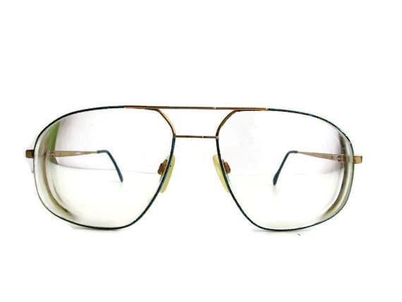 Vintage Mens glasses, Retro Glasses, Vintage glass