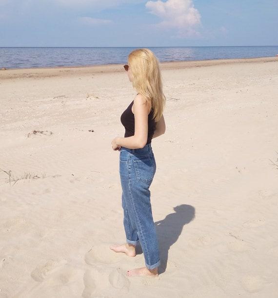 Vintage Mom Jeans, High waisted mom jeans, womens… - image 4