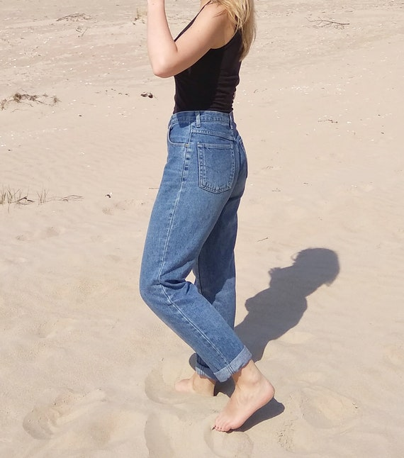 Vintage Mom Jeans, High waisted mom jeans, womens… - image 3