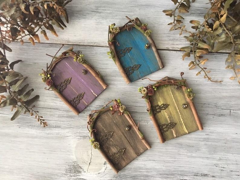 Faery Door  miniature fairy door fairy furniture handmade image 0