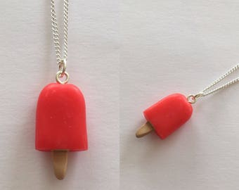 Ice lolly necklace