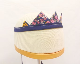Childrens fabric crowns