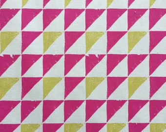 Goemetric Triangle Fabric by Clarke & Clarke