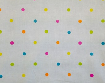 Colourful Dotty Fabric