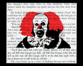 Pennywise the Clown - Stephen Kings 'IT' 6x4 Digital Postcard