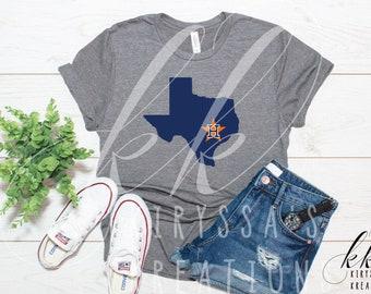 67ae5c2d055aa Houston astros shirt | Etsy