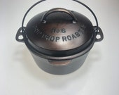 NICE Vintage Wagner Ware No 6 Cast Iron Drip Drop Roaster - Hard-to-Find Circa 1920 39 s
