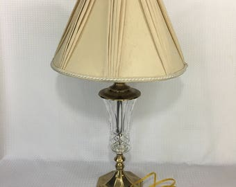 Antique miners justrite carbide lamp unique with 3 patent etsy vintage stiffel crystal and brass lamp with original shade nice condition aloadofball Choice Image