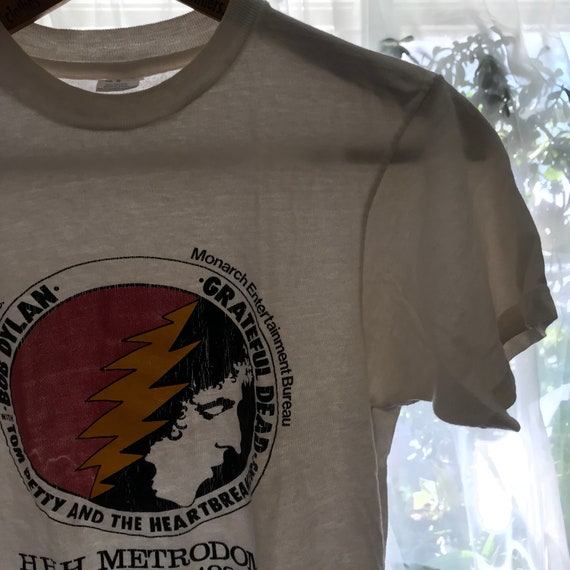 1980s Tom Vintage 80s Small Tour Petty Dylan Eighties Womens T Mens Bob Heartbreakers The Rock Tee Dead Shirt Shirt Grateful Band 8nTO8