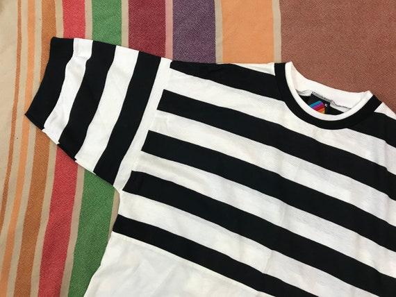 Vintage Hobie Striped Shirt / 90s / Mens Womens Un