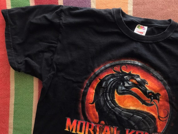 Mortal Kombat Vintage Graphic Tee / Large / Mens W