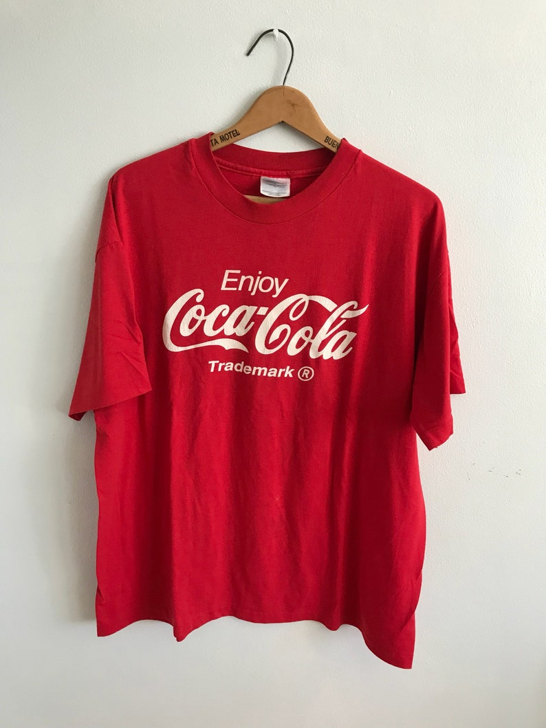 65212fa06 Vintage Coca Cola T-Shirt Mens Womens XL Extra Large / Red / | Etsy