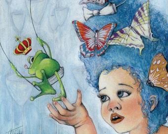 Little Frog Princess